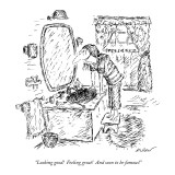 """Looking good!  Feeling great!  And soon to be famous!"" - New Yorker Cartoon Premium Giclee Print by Edward Koren"