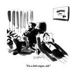 """I'm a little teapot, still."" - New Yorker Cartoon Premium Giclee Print by Donald Reilly"