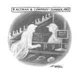 B. ALTMAN & COMPANY–SUMMER, 1992 - New Yorker Cartoon Premium Giclee Print by Henry Martin