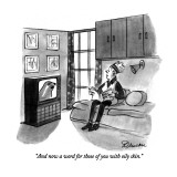 """""""And now a word for those of you with oily skin."""" - New Yorker Cartoon Premium Giclee Print by Boris Drucker"""