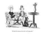 """We had her declawed, but she's still impossible."" - New Yorker Cartoon Premium Giclee Print by Warren Miller"