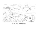 """I just got in from the coast."" - New Yorker Cartoon Premium Giclee Print by Ed Arno"
