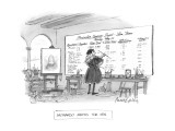 Leonardo Meets the I.R.S. - New Yorker Cartoon Premium Giclee Print by Mort Gerberg