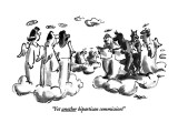 """""""Yet another bipartisan commission!"""" - New Yorker Cartoon Premium Giclee Print by Lee Lorenz"""