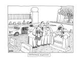 Posthumous Platinum - New Yorker Cartoon Premium Giclee Print by Jack Ziegler