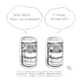 Great Two-Liners Revisited: Title. - New Yorker Cartoon Premium Giclee Print by Everett Opie