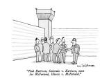 """Paul Harrison, Colorado v. Harrison, meet Joe McFarland, Illinois v. McFa…"" - New Yorker Cartoon Premium Giclee Print by Eric Teitelbaum"
