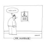 Mr. Humbug' - New Yorker Cartoon Premium Giclee Print by Mick Stevens