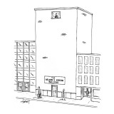 The Nelson V. Krebb Building - New Yorker Cartoon Premium Giclee Print by Tom Cheney