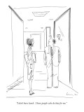 """""""I don't have lunch. I have people who do that for me."""" - New Yorker Cartoon Premium Giclee Print by Richard Cline"""