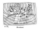 Moonbeams - New Yorker Cartoon Premium Giclee Print by William Steig