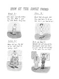 Now at the Adult Pound - New Yorker Cartoon Premium Giclee Print by Roz Chast