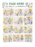 "Food Wars: ""Thrilla in Peekskilla"" - New Yorker Cartoon Premium Giclee Print by Roz Chast"