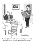 """""""I can't help feeling a little suspicious. One half is to be run by Bill G…"""" - New Yorker Cartoon Premium Giclee Print by J.B. Handelsman"""