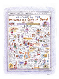 Welcome to The Universe in a Grain of Sand' - New Yorker Cartoon Premium Giclee Print by Roz Chast