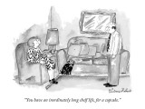 """""""You have an inordinately long shelf life, for a cupcake."""" - New Yorker Cartoon Premium Giclee Print by Victoria Roberts"""