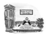 Mother Krupkie's Pies and Cakes - New Yorker Cartoon Premium Giclee Print by Warren Miller