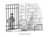 """Can I get that to go?"" - New Yorker Cartoon Premium Giclee Print by Mick Stevens"