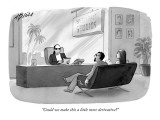 """Could we make this a little more derivative?"" - New Yorker Cartoon Premium Giclee Print by Harry Bliss"