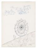 Sketchbook by Saul Steinberg - New Yorker Cartoon Premium Giclee Print by Saul Steinberg