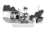 """I'm afraid you'll never know if this was for the speeding or for the Celi…"" - New Yorker Cartoon Premium Giclee Print by J.C. Duffy"