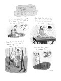 Distractions of the Great. - New Yorker Cartoon Premium Giclee Print by Roz Chast