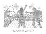 """Iggy Pop?  More like Iggy Grandpop."" - New Yorker Cartoon Premium Giclee Print by Jack Ziegler"
