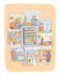 A book entitled 'The Crummiest Generation. . .  That's Right:  YOU.' is su… - New Yorker Cartoon Premium Giclee Print by Roz Chast