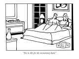 """I'm in this for the momentary haul."" - New Yorker Cartoon Premium Giclee Print by Bruce Eric Kaplan"