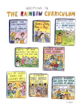 Additions to the Rainbow Curriculum - New Yorker Cartoon Premium Giclee Print by Roz Chast
