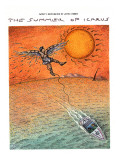 THE SUMMER OF ICARUS - New Yorker Cartoon Premium Giclee Print by John O'brien