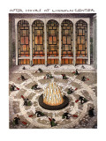 After Hours at Lincoln Center - New Yorker Cartoon Premium Giclee Print by John O'brien