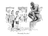 &quot;Personally, I&#39;m a doer.&quot; - New Yorker Cartoon Premium Giclee Print by Mike Twohy