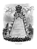 &quot;Overly scripted.&quot; - New Yorker Cartoon Premium Giclee Print by Lee Lorenz