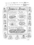 """Doreen's Diner"" - New Yorker Cartoon Premium Giclee Print by Roz Chast"