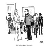 """Stop smiling. You're downtown. "" - New Yorker Cartoon Premium Giclee Print by Marisa Acocella Marchetto"