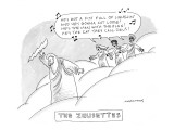 The Zeusettes - New Yorker Cartoon Premium Giclee Print by Mick Stevens
