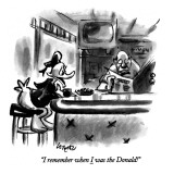 """I remember when I was the Donald!"" - New Yorker Cartoon Premium Giclee Print by Lee Lorenz"