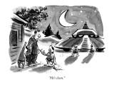 """He's clean."" - New Yorker Cartoon Premium Giclee Print by Lee Lorenz"