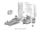 """I like to wear women's uniforms."" - New Yorker Cartoon Premium Giclee Print by Frank Cotham"