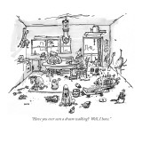 """Have you ever seen a dream walking?  Well, I have."" - New Yorker Cartoon Premium Giclee Print by George Booth"