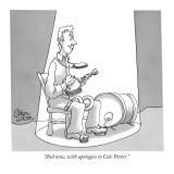 """""""And now, with apologies to Cole Porter."""" - New Yorker Cartoon Premium Giclee Print by Gahan Wilson"""