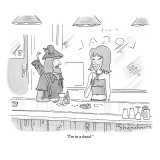 """I'm in a band."" - New Yorker Cartoon Premium Giclee Print by Danny Shanahan"