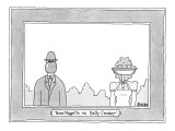 &quot;Ren&#233; Magritte vs. Betty Crocker&quot; - New Yorker Cartoon Premium Giclee Print by Jack Ziegler