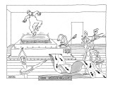 The Choreograph - New Yorker Cartoon Premium Giclee Print by Jack Ziegler