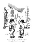 """I was all set to quit, but when the bastards killed off Joe Camel I swore…"" - New Yorker Cartoon Premium Giclee Print by Donald Reilly"