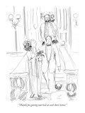 """Thanks for getting married on such short notice."" - New Yorker Cartoon Premium Giclee Print by Richard Cline"