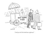 """I told you the Fed should have tightened."" - New Yorker Cartoon Premium Giclee Print by Robert Mankoff"