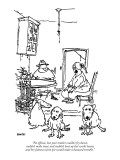 """""""No offense, but your mother couldn't fry bacon, couldn't make toast, and …"""" - New Yorker Cartoon Premium Giclee Print by George Booth"""