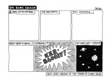 BIG BANG COMIX - New Yorker Cartoon Premium Giclee Print by Jack Ziegler